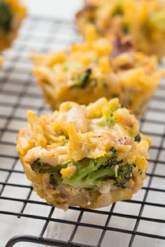 Chicken and Broccoli Casserole Bites – Imagine the cheesy flavor of chicken and broccoli casserole packed into cute, muffin-size bites. Then imagine your kiddos' smiles as they bite into this savory appetizer recipe.