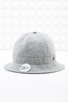 New Era Melton Bucket Hat in Grey Bucket Hat, Baseball Hats, Grey, Accessories, Fashion, Gray, Moda, Baseball Caps, Bob