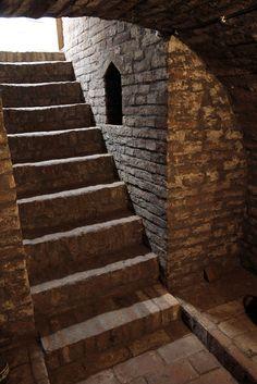 Pincelépcső / Kellertreppe