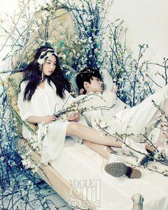 소년과 소녀의 순결한 서약 :: Vogue Girl