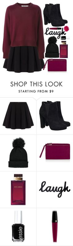 """""""laugh."""" by ines-nene-pt ❤ liked on Polyvore featuring Polo Ralph Lauren, Forever 21, Lipsy, Dolce&Gabbana, Essie, Lancôme and River Island"""