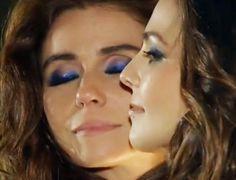 A maquiagem de Marina e Clara no ensaio fotográfico de Em Família