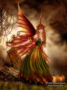 Fall-fairy-art