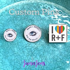 Rodan and Fields inspired Lapel Pin|BULK PRICING Option|Custom Brooch|Promotional Pin|Team Gift|Business Promotion|R F Pin|sales incentive by JamnJems on Etsy