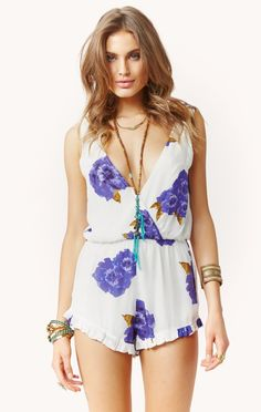 ryder floral romper by WINSTON WHITE #planetblue