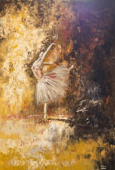 Salvatore Bua Olio su tela Tecnica: Spatola 100x70 Titolo: Danza  Anno 2011