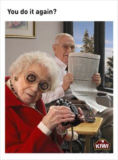 elderly couple stay young memes