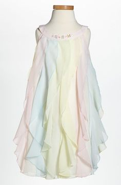Biscotti Chiffon Trapeze Dress | Nordstrom... gonna try to figure out how to make this one day