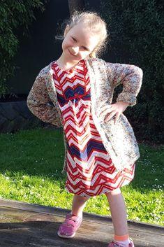 Girl's summer knit cardi