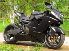 Zx12 with bmw s1000 tail