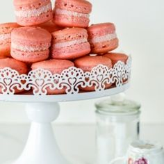 White Noise /-/ Iced Vovo Macarons