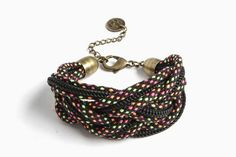 Stussy - Women's Woven Rope Bracelet (More Colors)