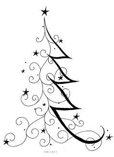 Arts and Crafts Computer Paper UK Christmas Drawing, Christmas Art, Christmas And New Year, All Things Christmas, Christmas Holidays, Christmas Decorations, Xmas, Zen Doodle, Doodle Art