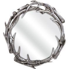 Abraham Antler Wall Mirror