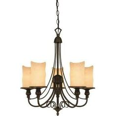 Westinghouse Lighting Hearthstone 5 Light Chandelier