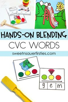 If you are looking for a fun, hands-on way to practice foundational phonemic awareness skills, look no further! My students love this simple, interactive CVC activity using Play-Doh! This engaging resource is PERFECT for any preschool and kindergarten classroom to practice blending or segmentation skills.
