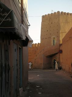 The back gate into the walled city of Tiznit, Marocco - an old silversmithing town in Morocco on the northern end of the trans Saharan caravan routes... photo by Mark Kaplan
