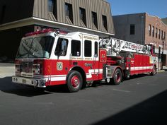 Rutherford Fire Department (NJ)  56 Truck 1  Truck 1 is a 1995 Simon Duplex/LTI 100ft Tractor Drawn tiller. The aerial seats 10 firefighters in the tractor and 1 firefighter in the tillerman's cab.  http://setcomcorp.com/1310intercom.html
