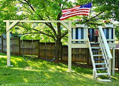 So many memories are made in the backyard. Every kid craves a little place of his or her own—a place to imagine and invent, plot and plan. A clubhouse is the perfect setting for all of childhood's dream making. You can buy one for the equivalent of downpayment on a car. Or, you can DIY one that's customized for your kiddo's capabilities and interests. Create a tree house, book nook, hideout, or fort—or maybe a little of each. There's a design to fit every family and physical location. Check…