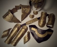 """This is the process I came up with and used to make the armor on the King Loki build so smooth. Worbla is quite easy to work with but has a somewhat rough """"orange peel"""" like texture. Th…"""