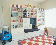 Cheap Playroom Storage Ideas | also great play room storage ideas that we could have in our kid play ...
