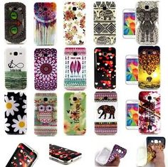 Samsing Galaxy Core Prime Cases - Ebay - Rubber  Various Cases