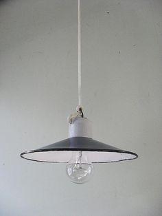 Lampa przemysłowa metalowa emalia LOFT INDUSTRIAL