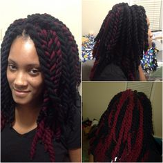 Crochet Braids Yarn Twists : images about Braids, Twist,....etc. on Pinterest Yarn braids, Yarn ...