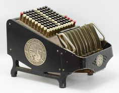 Buy online, view images and see past prices for Brandt Automatic Cashier. Invaluable is the world's largest marketplace for art, antiques, and collectibles. Vintage Cash Register, Mechanical Calculator, Old Computers, 1920s, Auction, Retro Styles, Typewriters, Antiques, Revenge