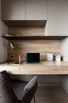 Study Room Design, Room Design Bedroom, Home Room Design, Study Table Designs, Office Interior Design, Office Interiors, Interior Design Living Room, Home Office Setup, Home Office Space