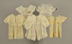 LOT 517 FIVE CHILDRENS WHITE NET GARMENTS, 1910 - 1912 - whitakerauction 1950s Outfits, Silk Ribbon, Vintage Children, Short Sleeve Dresses, Ruffle Blouse, Lace, Prints, Hairstyles, Women