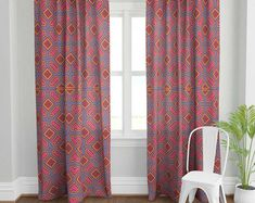 Farmhouse Ticking Stripe Cafe Curtains/Drapes/Valance/Pillow -Overall Buckle Tab Top Colors-Custom Curtains -Ships in Biz Days Tab Top Curtains, Drapes Curtains, Valance, Home Grown Vegetables, Ticking Stripe, Custom Curtains, Fabric Samples, Blue And White, Pillows