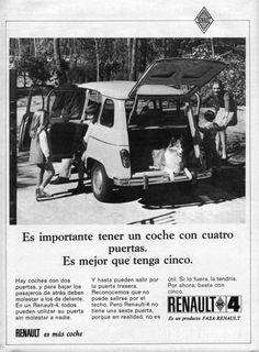 """Renault 4 """"mejor que tenga cinco puertas""""  Cambio e-shop por Renault 4 en regla"""