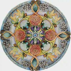Seasons Mandala by Jo Thomas Blaine