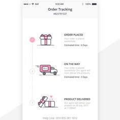 App design for fun delivery tracking App design contest design#app#contest#jesperbergkvist Mobile Ui Design, App Ui Design, Interface Design, Email Marketing Design, Email Design, Apps, Layout Online, Ecommerce App, Mobile App