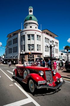 The self-proclaimed Art Deco Capital of the World, the New Zealand city was rebuilt after a 1931 earthquake with a dense concentration of Art Deco architecture, unique in the world with its addition of Maori motifs. Admire its 140-some Art Deco buildings clustered in the compact town center, such as the Egyptian-inspired Municipal Theatre, and the Temperance and General Insurance building, pictured here.