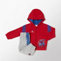 Conjunto de chándal con capucha Spider-Man adidas | adidas España