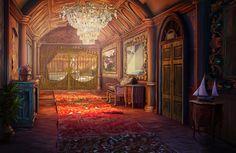 #art #gameart #interior #gamedev #gamedevelopmentart #madheadgames #gaming #games #game  #lobby #hall #vintage #olddor #crystalchandelier