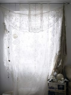 xx..tracy porter..xx..poetic wanderlust...- Cloth Curtain