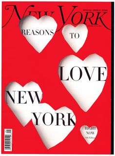 love new york issue // ney york magazine
