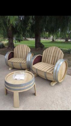 Patio furniture!