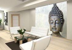 Buddha build fleece in room wallpaper Buddha Artwork, Buddha Wall Art, Buddha Painting, Living Room Partition Design, Room Partition Designs, Mural Wall Art, Home Decor Wall Art, Buddha Living Room, Living Room Designs