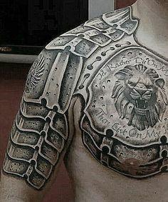 #Tattoo#beautyful Татуировка#доспехи