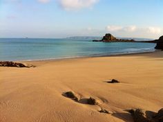 Belvoir Bay, Herm Island. Tranquil morning March 2012