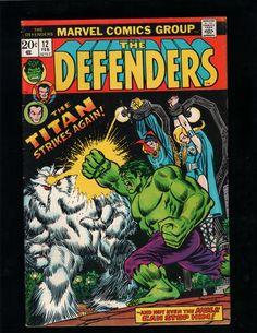 THE DEFENDERS #12 HULK, DOCTOR STRANGE, SUB-MARINER, MARVEL COMICS