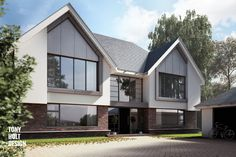 Tony Holt Design : Self build for new build house in Hertfordshire