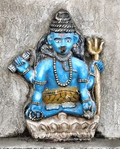 Swayambhunath : Shiva.