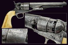 An 1860 model Colt Army revolver