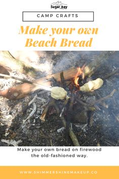 Make your own beach bread the way we do at Sugar Bay: Ingredients: Camping Crafts, How To Make Bread, Consistency, Craft Activities, 1 Cup, Crafts To Make, Make Your Own, Powder, Salt