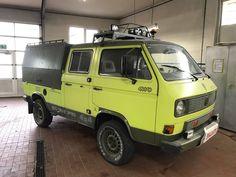 Pickup Camper, Vw Camper, Pickup Trucks, Volkswagen Bus, Motorhome, Vw Syncro, Bug Out Vehicle, Van Camping, Buggy